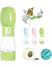 AUSELECT Pet Water Bottle for Dog Drinking&Feeding