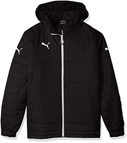 Puma Men's Stadium Jacket, Small, Black-White (Puma Soccer Jersey Training)