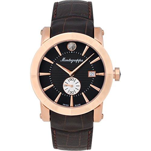 Montegrappa NeroUno Sub Seconds Men's Watch Swiss Made IDNRWACB Swiss Made