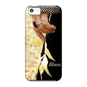 LJF phone case New Style Mialisabblake Alone Premium Tpu Cover Case For Iphone 5c