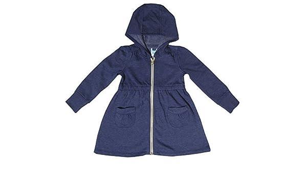 Gap - Sudadera con capucha - para niña gris azul marino: Amazon.es: Ropa y accesorios