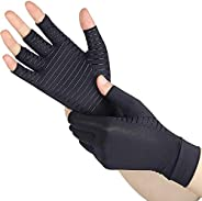 Copper Arthritis Gloves, Support Arthritis Compression Gloves for Women and Men to Daily Work and Computer Typ