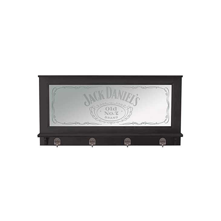 Jack Daniel's Pub Mirror with Black Finish