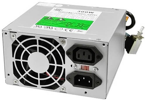 Athena Power AP-AT30 300W AT Power Supply 6Pin P8 6pin P9 Connector (Athena Picture)