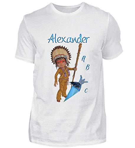 White Alexander Shirtee Herren Einschulung Shirtee Einschulung XwW6qPWnSO