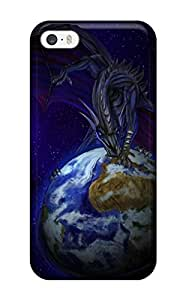 Excellent Iphone 5/5s Case Tpu Cover Back Skin Protector Covering The Earth