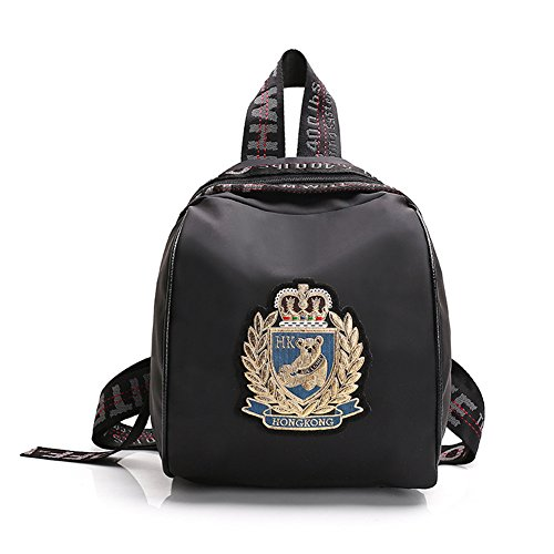 Barton Rugby (FTSUCQ Womens/Girls Nylon Backpack Travel Daypack Tote School Bags Shoulder Satchels)