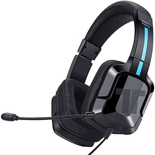 TRITTON Kama Plus [Upgraded with Over-Ear Caps], Gaming Headset with mic, for Sony PS4,Nintendo Switch,MacBook Pro/Air,Laptop,and More by TRITTON