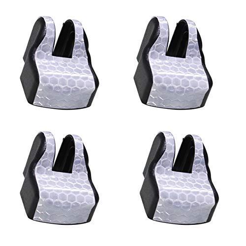 Maite For Highlander Prius RAV4 Lexus GX IS GS LS Car Door Lock Stopper Cover Waterproof Dustproof Door Arm Protector Cover Black 4 Pcs