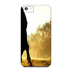 New Backlit Horses Duesseldorf Germany Cases Covers, Anti-scratch ChrisHuisman Phone Cases For Iphone 5c