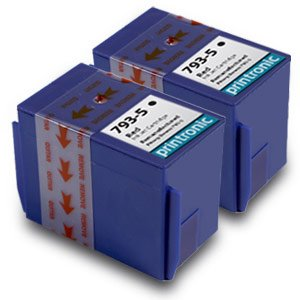 Printronic Compatible Ink Cartridge Replacement for Pitney Bowes 793-5 (2 Red) 2 (Pitney Bowes Replacement)