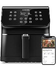 COSORI Smart Air Fryer Oven Customizable 10 Presets & Shake Reminder, Keep Warm Preheat, Nonstick Removable Basket