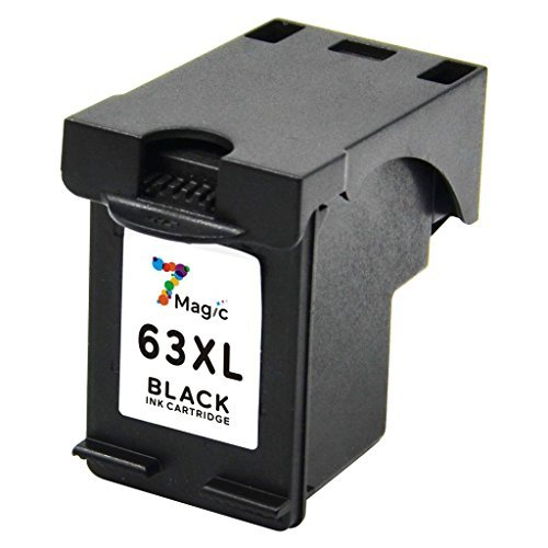 7Magic Remanufactured Ink Cartridge Replacement for 63XL 63 XL Use in Envy 4512 4516 4520 Officejet 3830 3831 4650 4655 Deskjet 2130 2132 3630 3632 3634 3636 Printer (2 Black & 1 Tri-Color) Photo #7