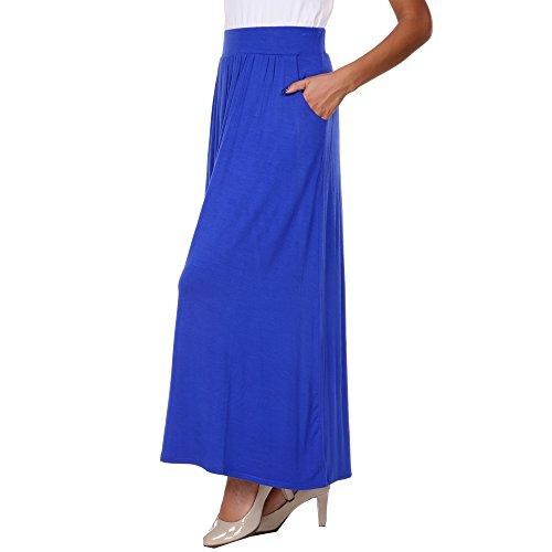 WM Women's Maxi Skirt With Pockets