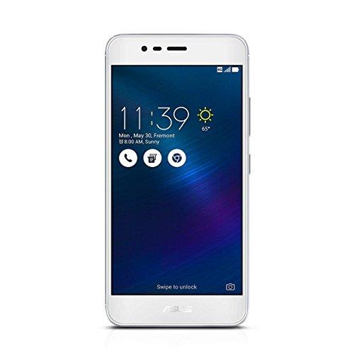 ASUS ZenFone 3 MAX ZC520TL Smartphone, 5.2-inch, 16GB (Glacier Silver) (Renewed)