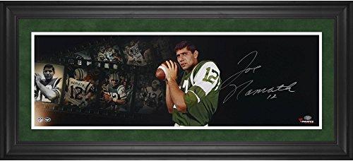 - Joe Namath New York Jets Framed Autographed 10