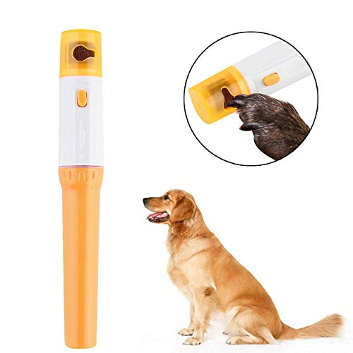 Mini electric pet nail clippers pet nail grinder and trimmer pet pedicure by Helen-ar