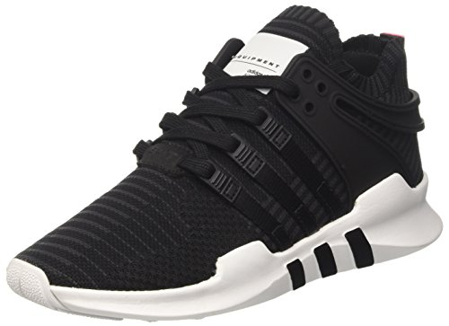 adidas Equipment Support Adv Pk - deportivas bajas Unisex adulto Negro (C Black / C Black / Turbo)