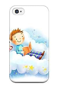High Quality RcRwqjS11409fEnnz Cartoon Tpu Case For Iphone 4/4s