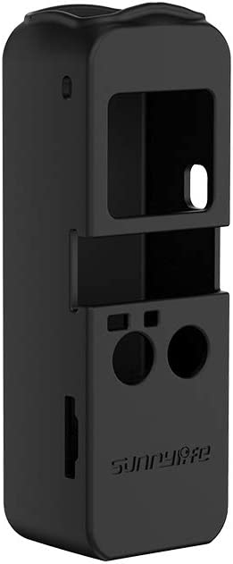 Color : Color1 OSMO Pocket Accessories Hyx Non-Slip Dust-Proof Cover Silicone Sleeve for DJI OSMO Pocket