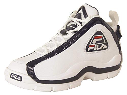 Fila Mens 96 2019 Sneaker, Adult, White/Navy/Red, 8 M US