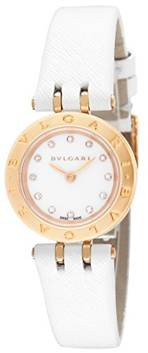 BVLGARI B-ZERO1 White Dial K18PG / Stainless Women Watch BZ23WSGCL / 12