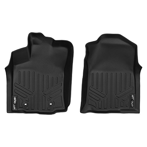 MAX LINER A0207 Black Floor Mat (for Toyota Tacoma First Row Set)