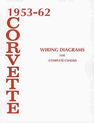 1953-1962 chevrolet corvette wiring diagram manual reprint: chevrolet:  amazon com: books