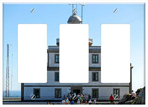 Switch Plate Triple Rocker/GFCI - Finisterre Galicia Spain Fisterra Cape Tourism