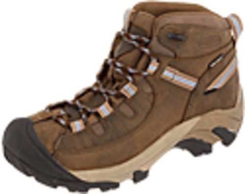 - KEEN Women's Targhee II Mid Waterproof Hiking Boot,Slate Black/Flint Stone,9 M US