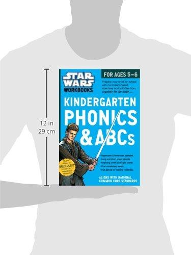 Star Wars Workbook: Kindergarten Phonics and ABCs (Star Wars ...