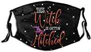 Magic Halloween Witch Reusable Mouthguard With Filter