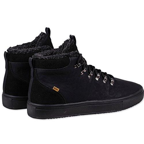 Djinns - Zapatillas para hombre Negro negro