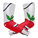 Best Hanes Compression Shirts For Men - Perfectly Customized Arm Sleeves Cartoon Fruit Apple Man Review