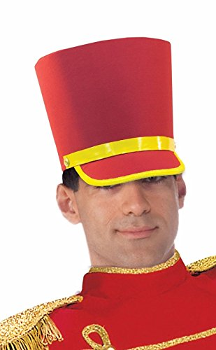 [Forum Novelties Men's Deluxe Toy Soldier Hat, Red/Gold, One Size] (Toy Soldier Hat)