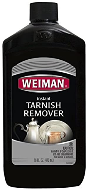 Weiman Instant Tarnish Remover for Silver & Copper, 16-Ounce Bottles (Pack of 6) by Weiman