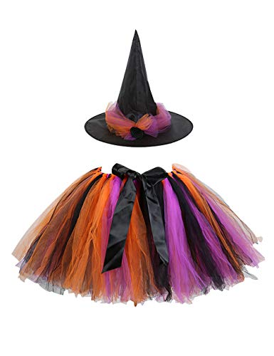 AQTOPS Women Skirt with Witch