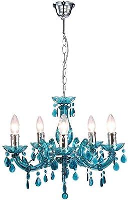 Design LED Decken Leuchte Lampe Chrom Wohn Schlaf Zimmer Alabaster-Glas Küche