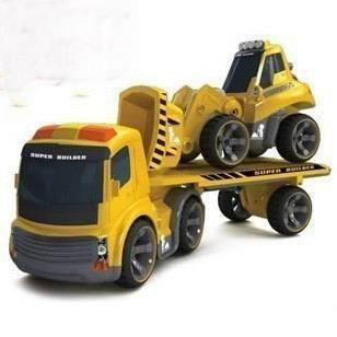 CM-CQF  赤外線コントロール工事車/トレーラー/ブルドーザー/セット児童子供用 電気工事車