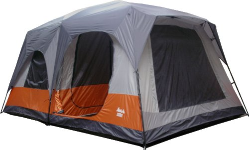 World Famous Sports 8 Person 2 Room Cabin