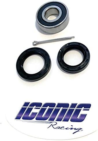 Honda TRX450R /'04-/'14 Pivot Works Upper /& Lower A-Arm Bearings Seals Rebuild Kit
