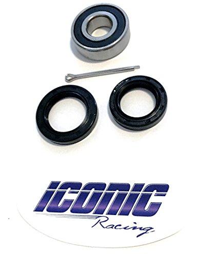 Yamaha Raptor 660 700 YFM660R YFM700R Lower Steering Stem Bearing and Seal Kit Iconic Racing