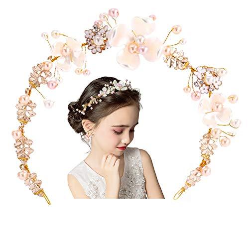 Flower Girls Bridemades Pink Wedding