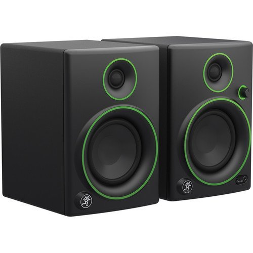 Mackie CR4- 4'' Woofer Creative Reference Multimedia Monitors (Pair) with Stereo Headphones