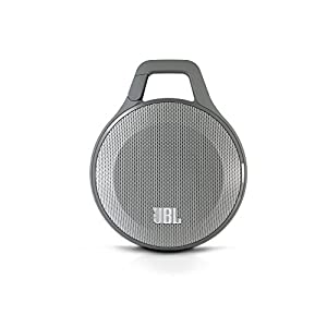JBL Clip Portable Bluetooth Speaker With Mic (Grey)