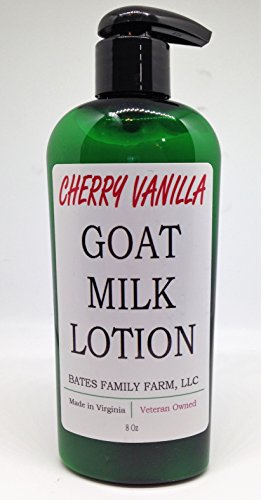 (Bates Family Farm Goat Milk Lotion (Cherry Vanilla Fragrance))