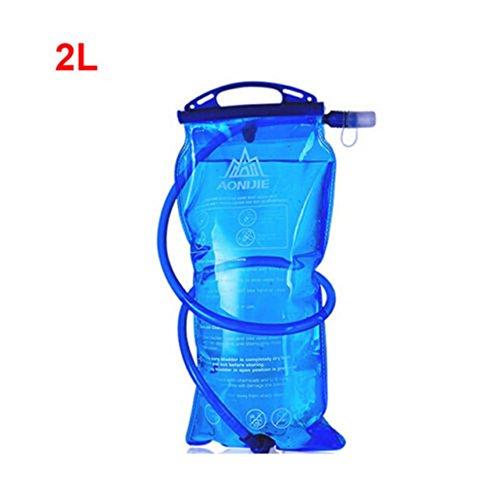 lzndeal Poche à eau d'hydratation Bouteille d'eau Sac 1L/1.5L/2L/3L - Hydratation Camelback Tactique sac à dos sac d'eau pour Camping Randonnée en plein air Gourde sport