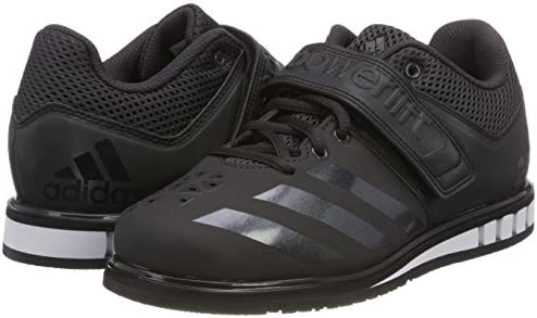 Adidas Powerlift 3.1 Chalk Mens Weightlifting Shoes Black