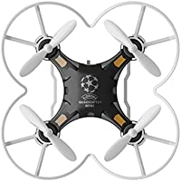 lifepot Hiinst 124 RC Mini Quadcopter 2.4G Remote Control RTF 4CH 6-Axis Gyro Pocket Drone Toys for Children (Black)