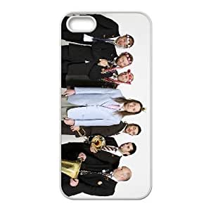 iPhone 5 5s Cell Phone Case Covers White Mnozil Brass as a gift R539895